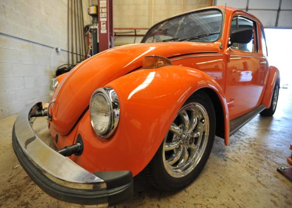 Lowered Beetle