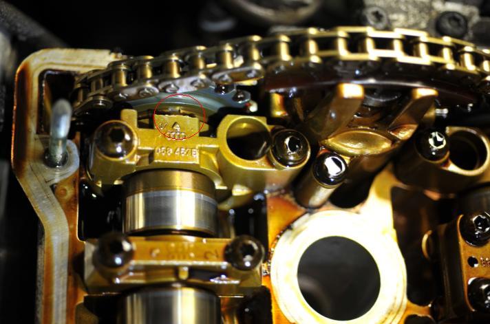 VW AWM Exhaust Camshaft Timing