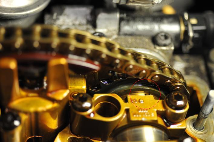 VW AWM Intake Camshaft Timing
