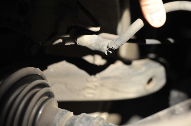 Left Front Brake Hose