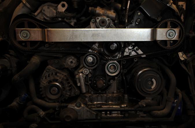 Audi 2.7T Timing Belt Installed