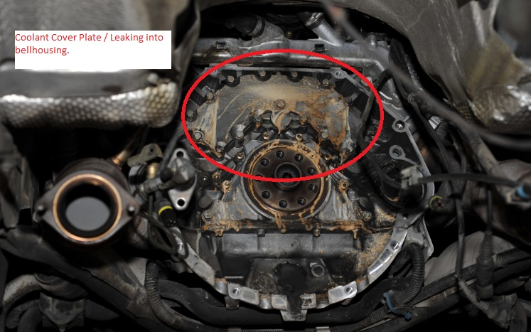 BMW M62 Coolant Leak