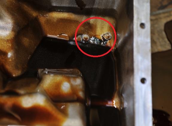 S54 Broken Vanos Pieces in Oil Pan