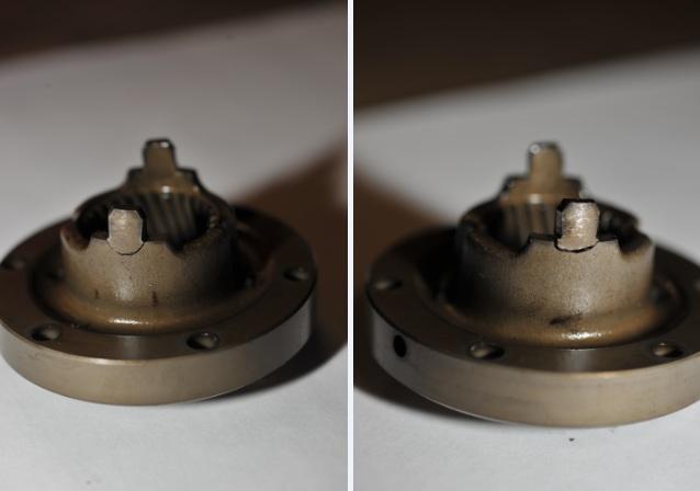 Vanos Oil Drive Pulley - broken tangs