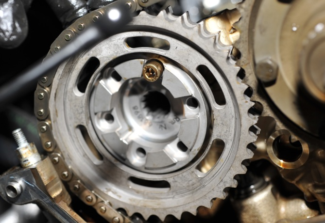 S54 Exhaust Cam Pulley Installation