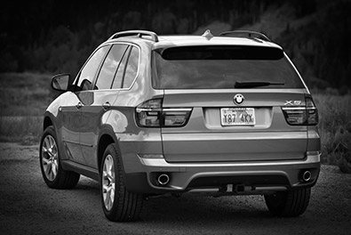 BMW X5 sidebar