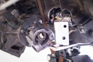Land Rover Discovery broken drive shaft and transmission
