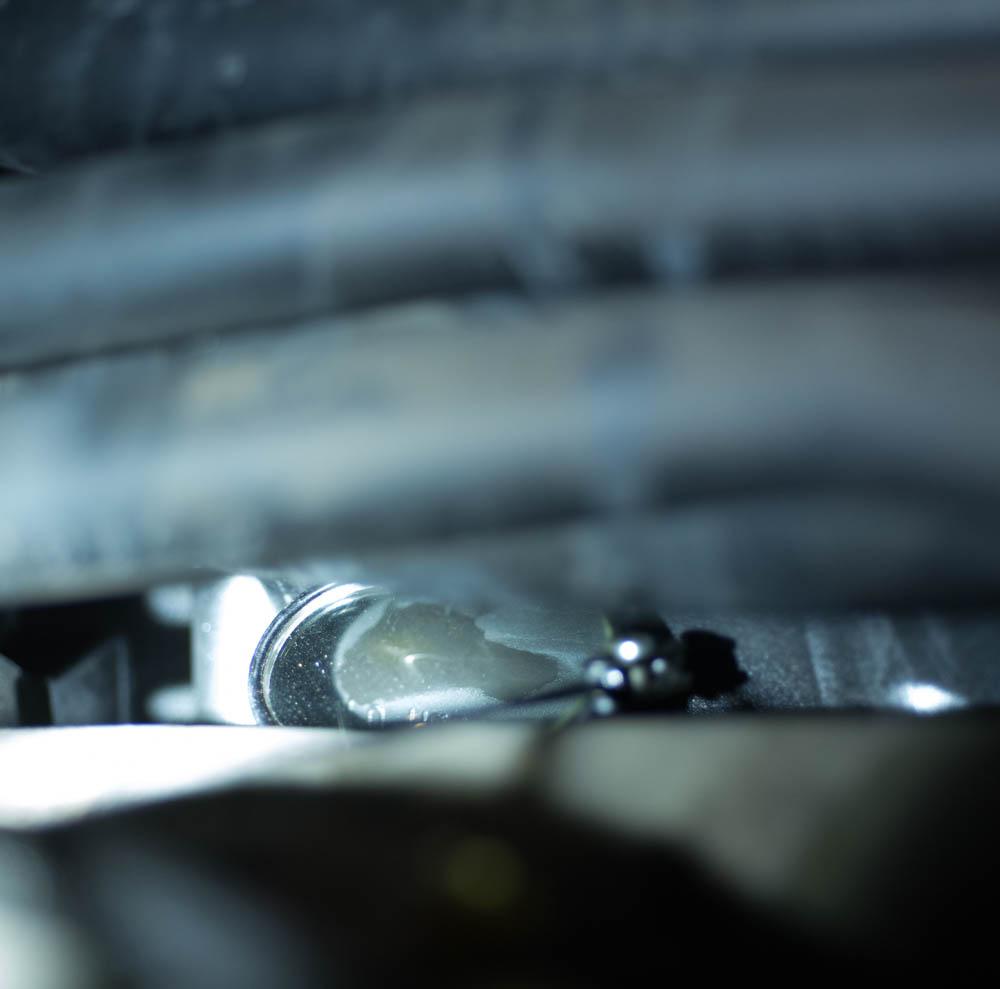 Under Intake Engine Coolant Leak