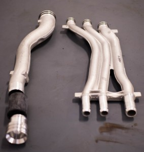 updated coolant pipes (aluminum)