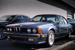 There were no shortage of cool BMWs visiting - check out this beautiful 6-series!